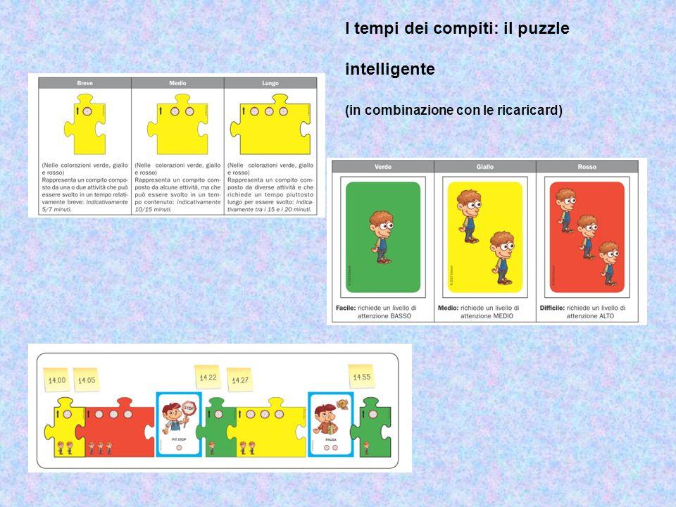 I tempi dei compiti: il puzzle intelligente