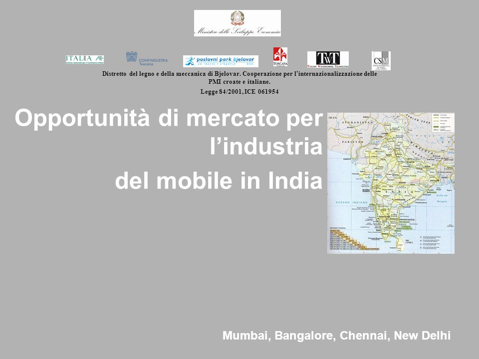 Opportunità di mercato per l'industria del mobile in India