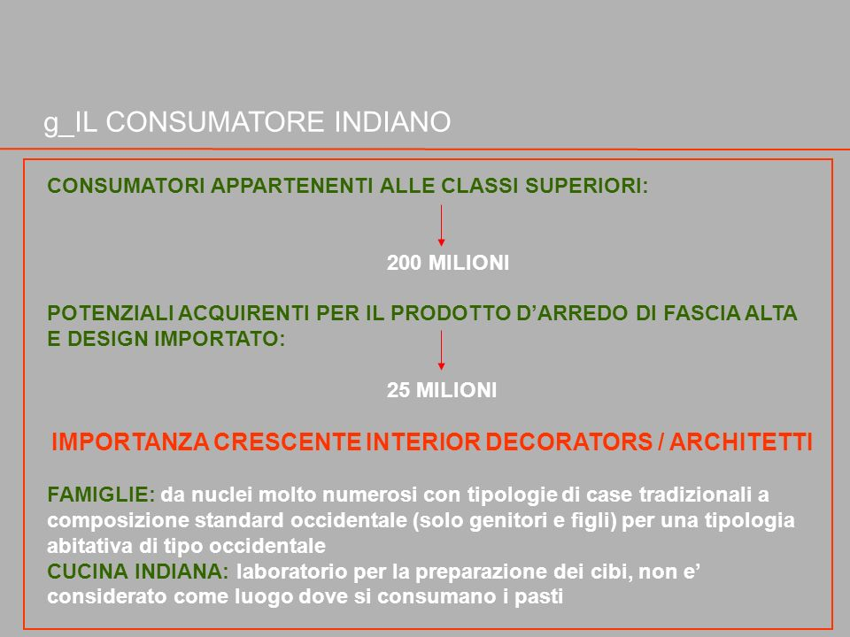 IMPORTANZA CRESCENTE INTERIOR DECORATORS / ARCHITETTI