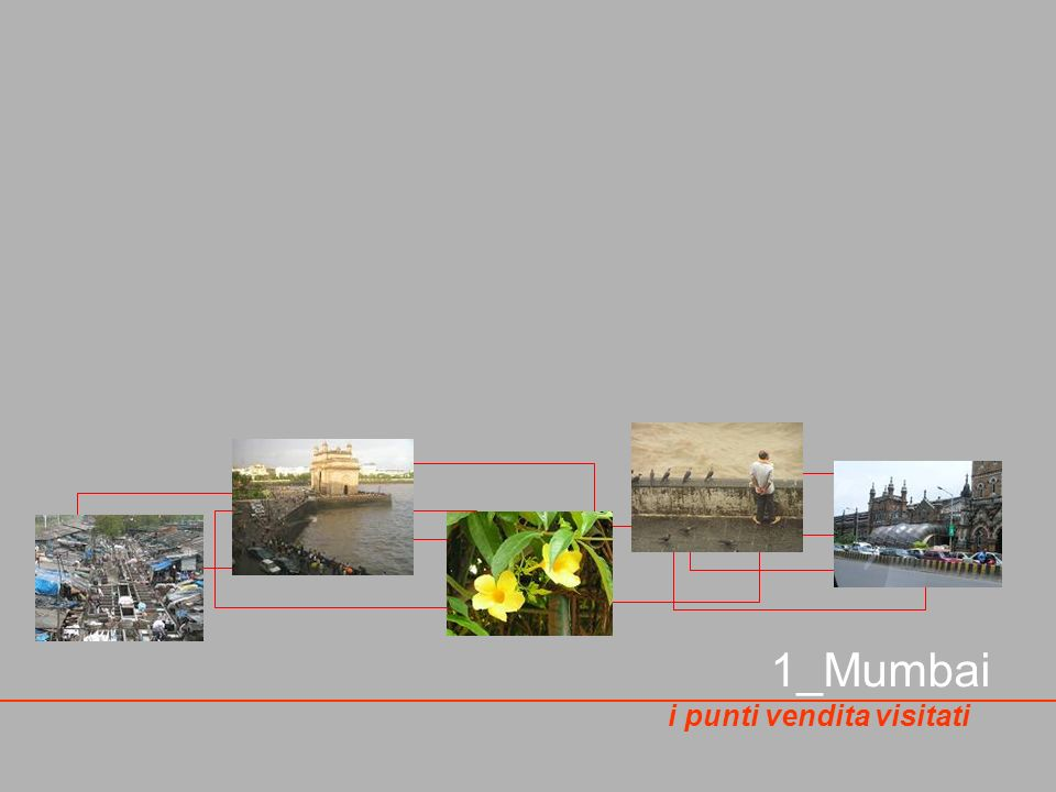 1_Mumbai i punti vendita visitati