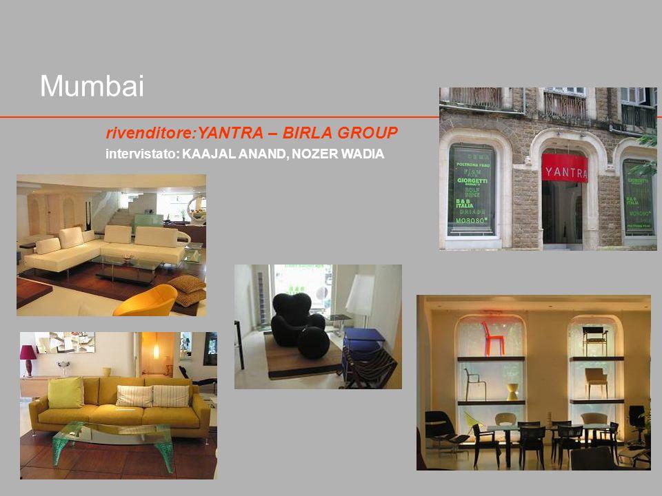Mumbai rivenditore:YANTRA – BIRLA GROUP