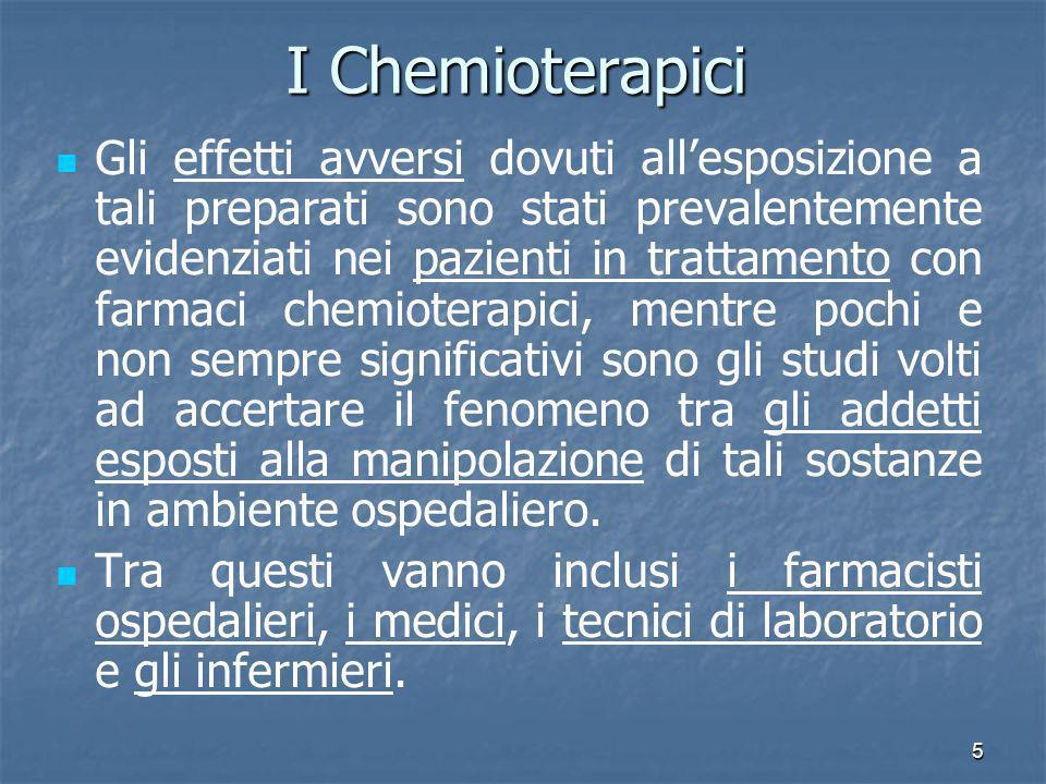 I Chemioterapici