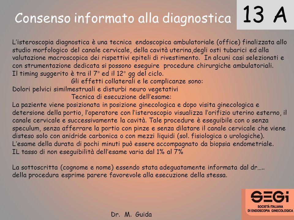 Consenso informato alla diagnostica