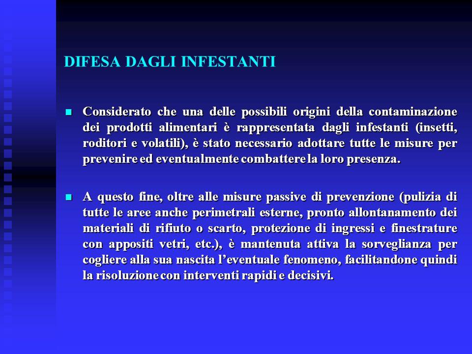DIFESA DAGLI INFESTANTI