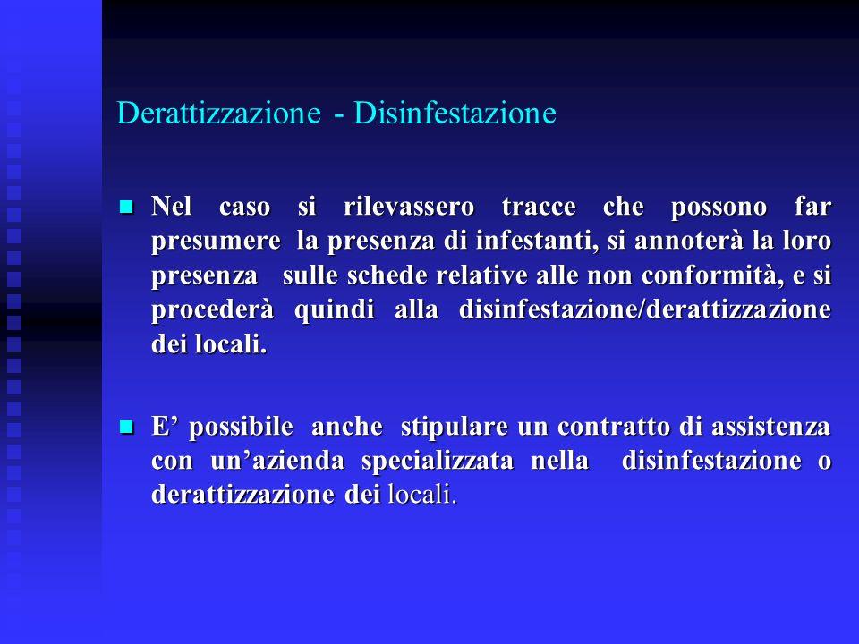 Derattizzazione - Disinfestazione