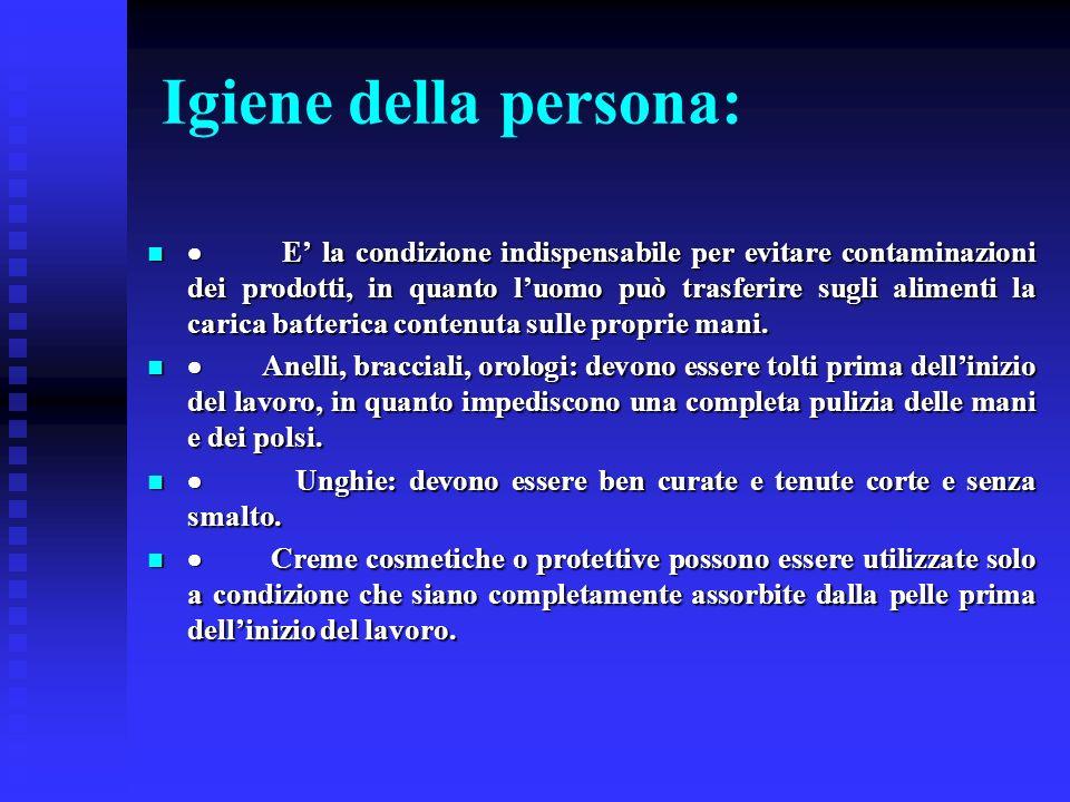 Igiene della persona: