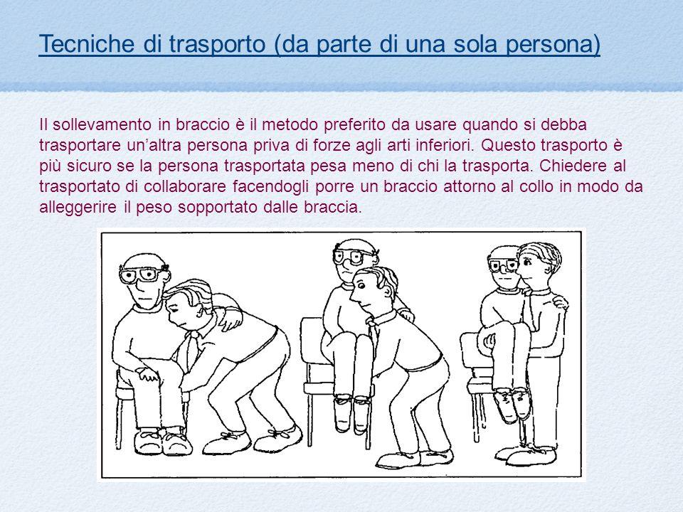 Tecniche di trasporto (da parte di una sola persona)