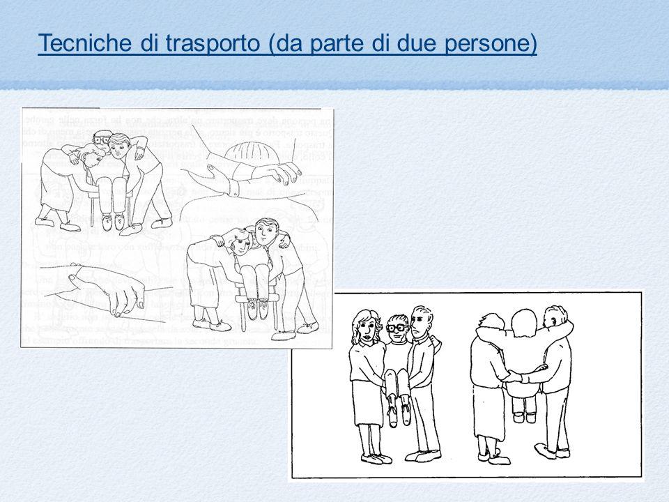 Tecniche di trasporto (da parte di due persone)