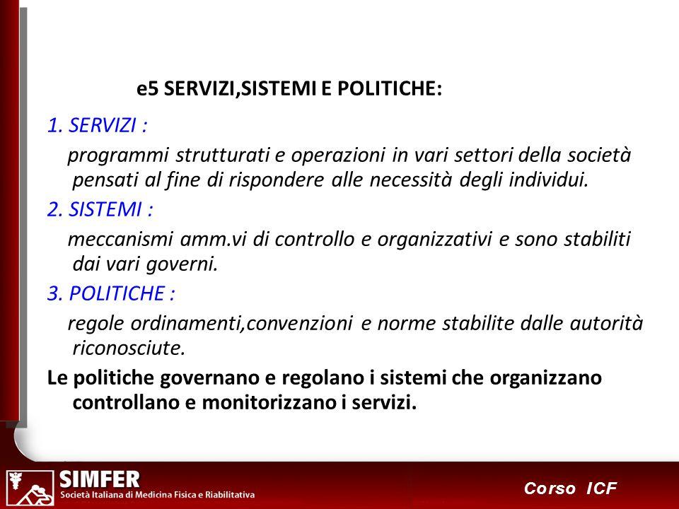 e5 SERVIZI,SISTEMI E POLITICHE: