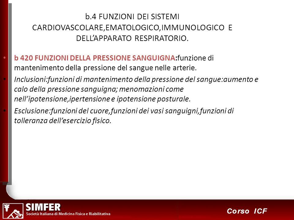 b.4 FUNZIONI DEI SISTEMI CARDIOVASCOLARE,EMATOLOGICO,IMMUNOLOGICO E DELL'APPARATO RESPIRATORIO.