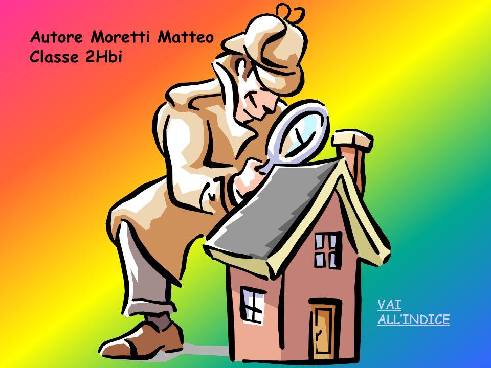 Autore Moretti Matteo Classe 2Hbi