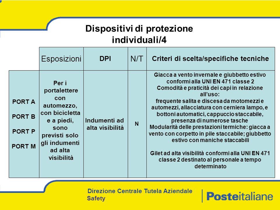 Dispositivi di protezione individuali/4