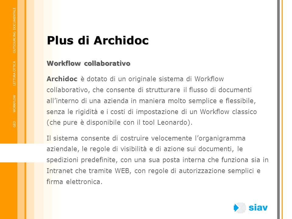 Plus di Archidoc Workflow collaborativo