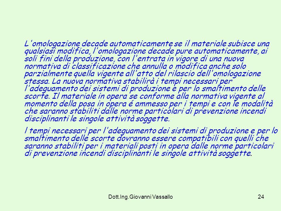 Dott.Ing.Giovanni Vassallo