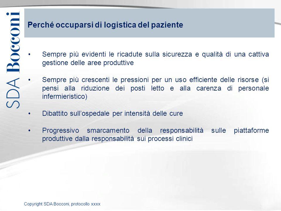 Perché occuparsi di logistica del paziente
