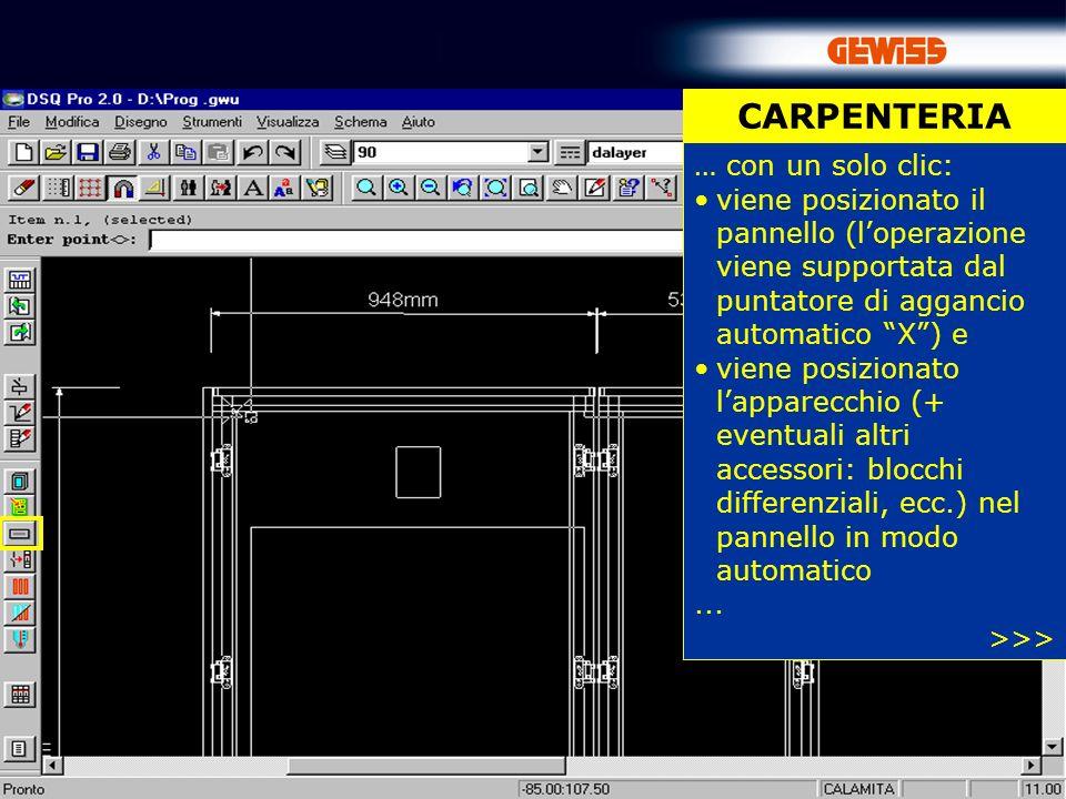 CARPENTERIA … con un solo clic: