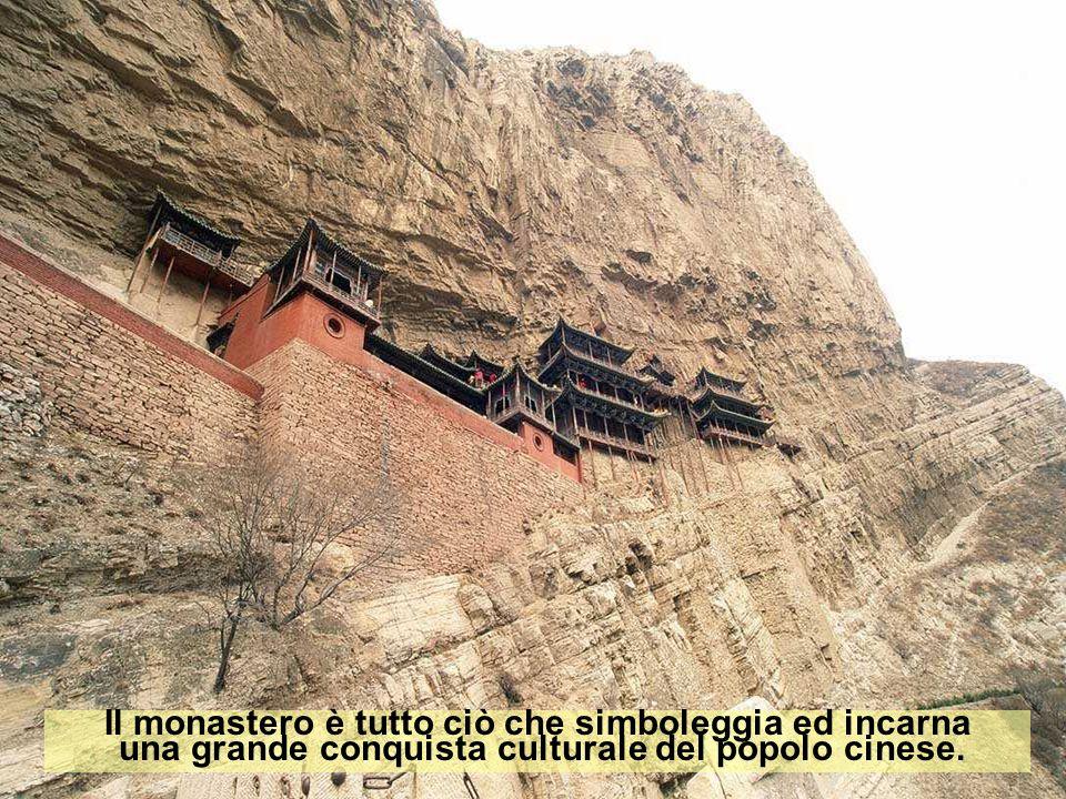 Il monastero è tutto ciò che simboleggia ed incarna una grande conquista culturale del popolo cinese.