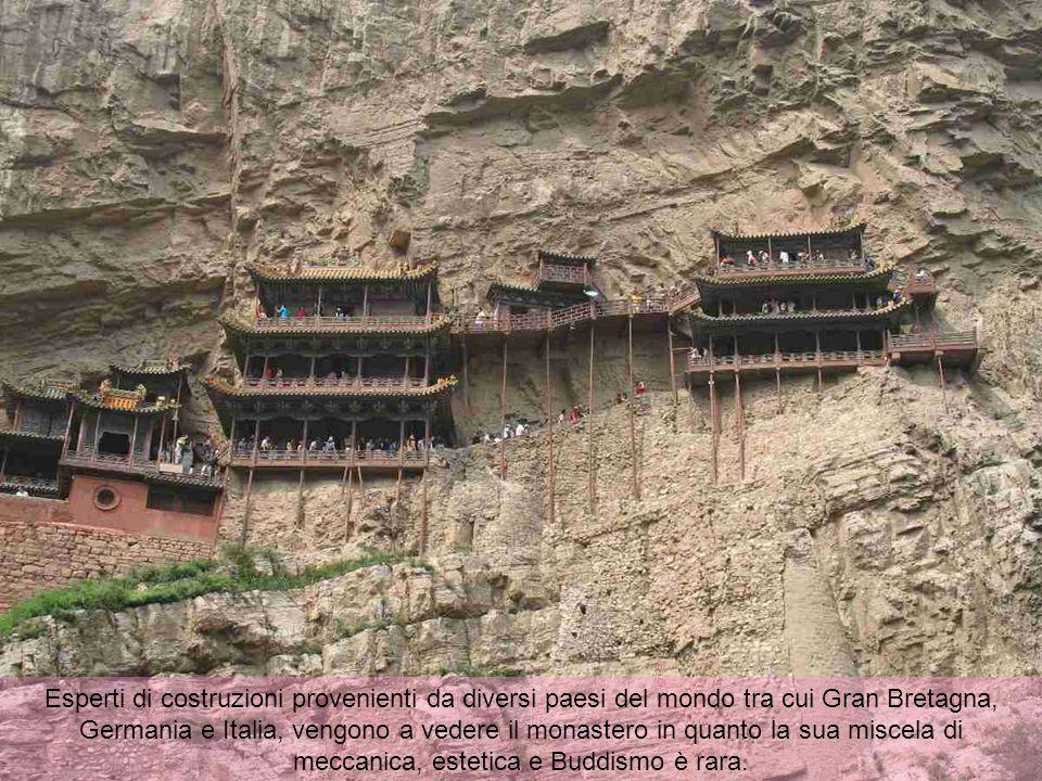 Esperti di costruzioni provenienti da diversi paesi del mondo tra cui Gran Bretagna, Germania e Italia, vengono a vedere il monastero in quanto la sua miscela di meccanica, estetica e Buddismo è rara.