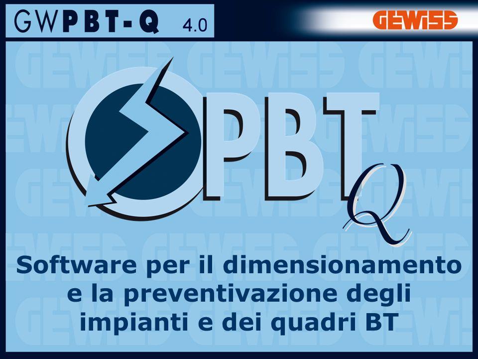 Software per il dimensionamento e la preventivazione degli impianti e dei quadri BT
