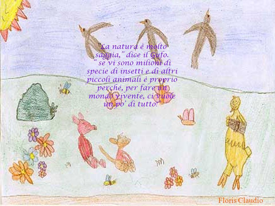 Floris Claudio La natura è molto saggia, dice il Gufo.
