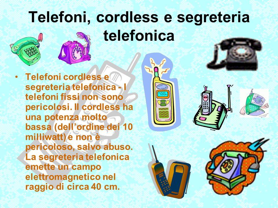 Telefoni, cordless e segreteria telefonica
