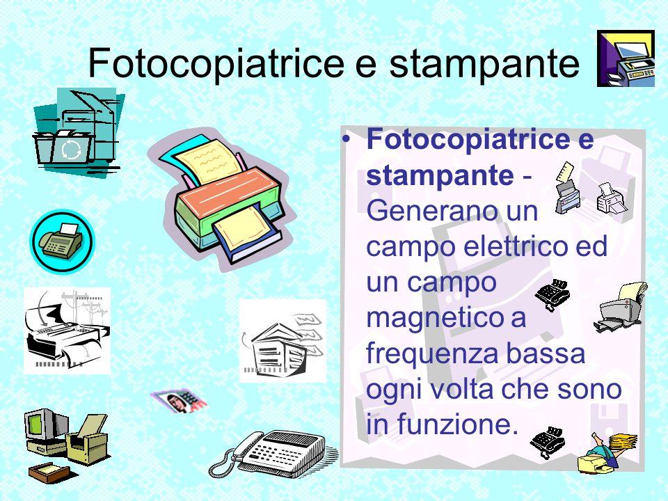 Fotocopiatrice e stampante