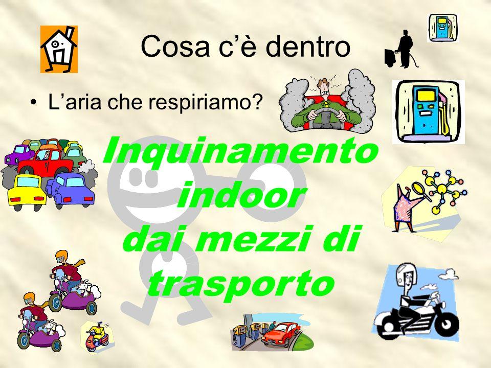 Inquinamento indoor dai mezzi di trasporto