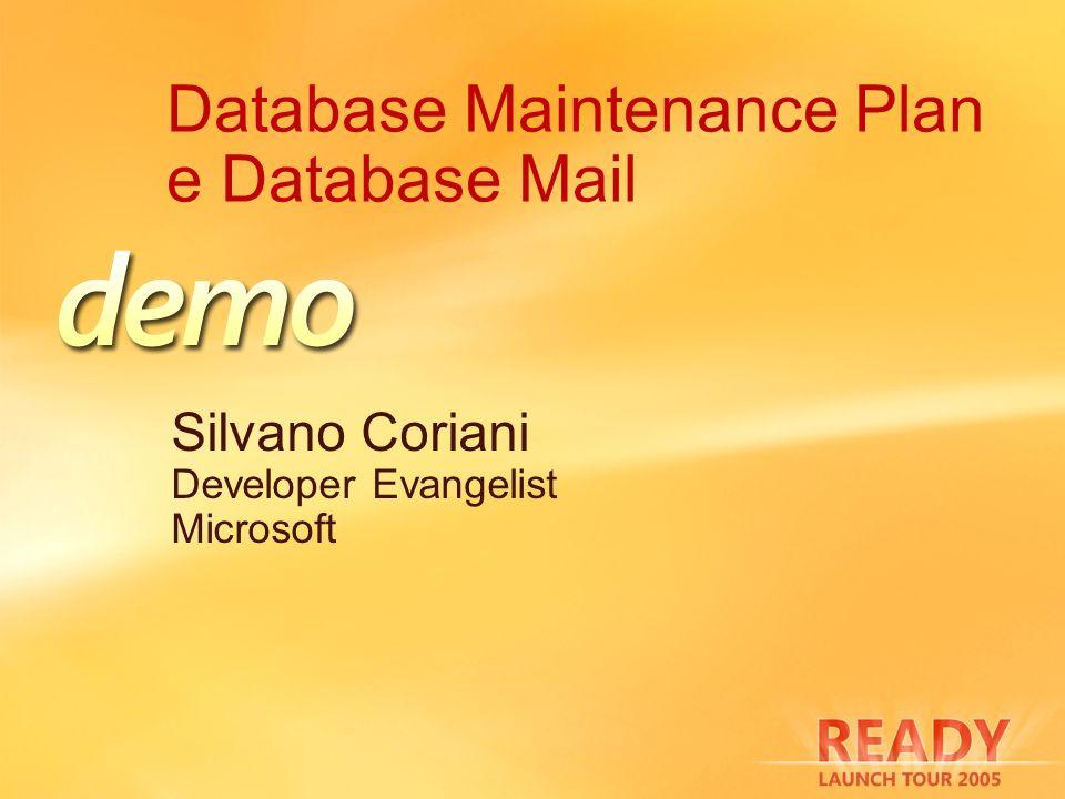 Database Maintenance Plan e Database Mail