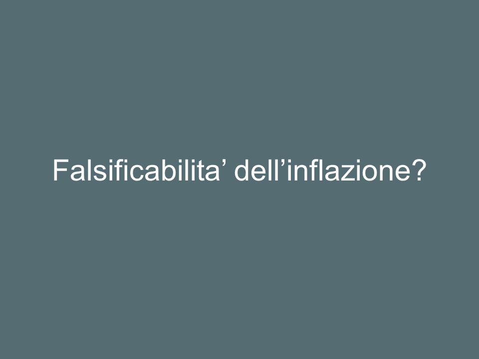 Falsificabilita' dell'inflazione