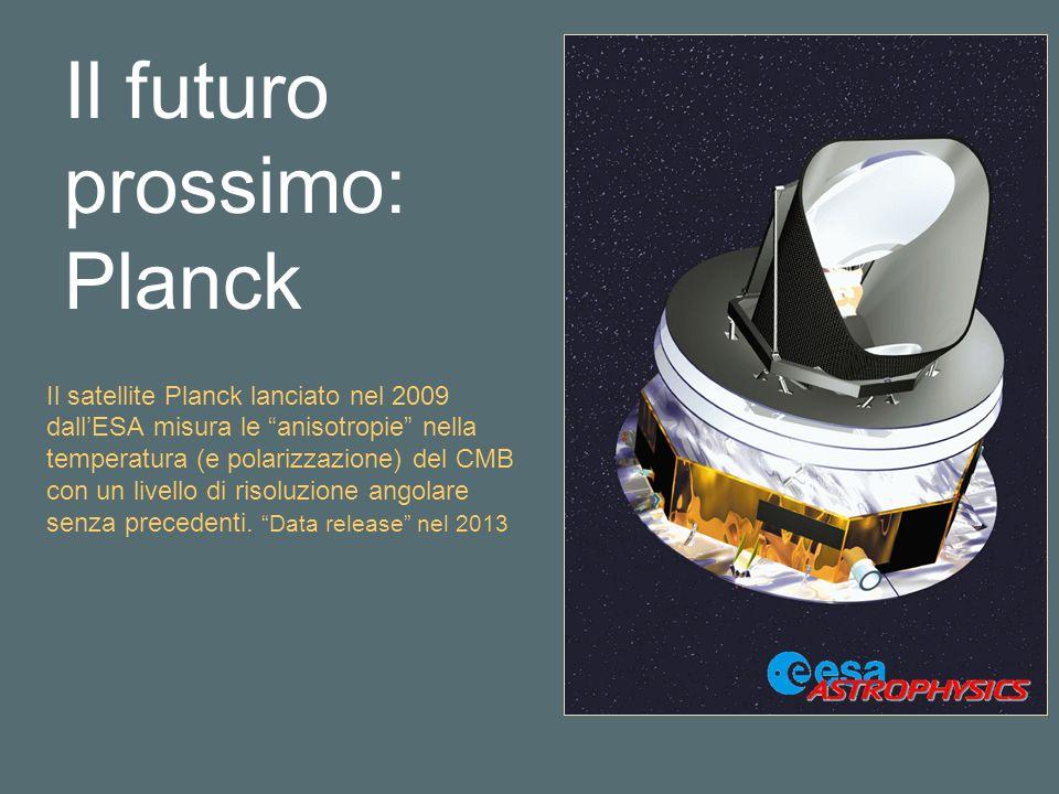 Il futuro prossimo: Planck