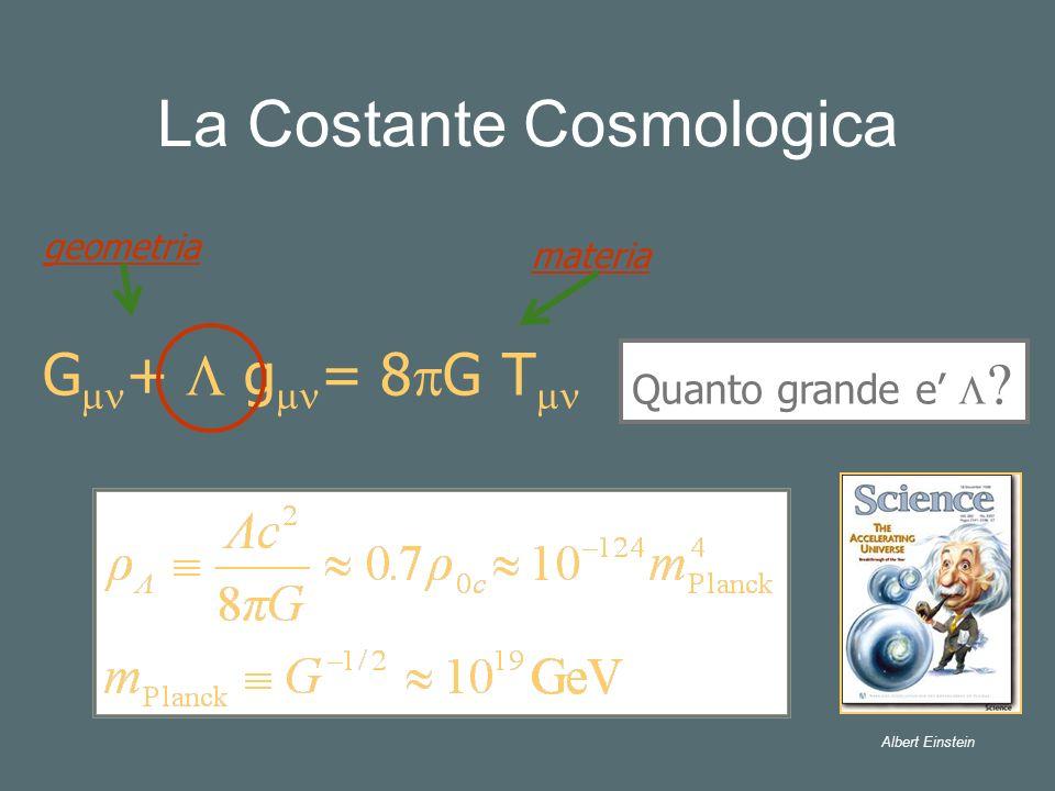 La Costante Cosmologica