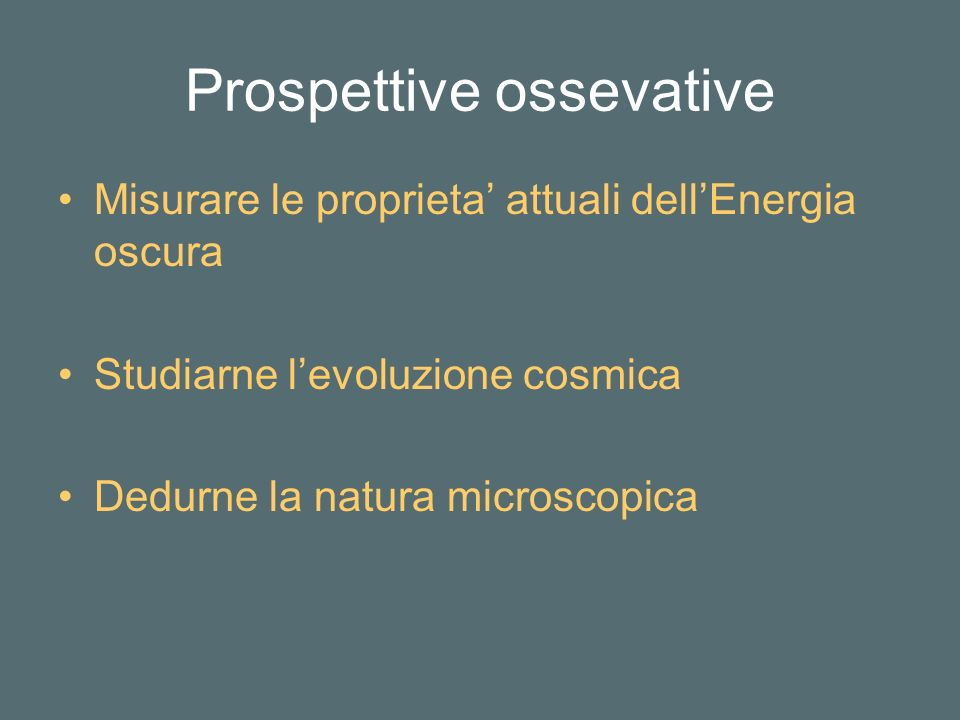 Prospettive ossevative
