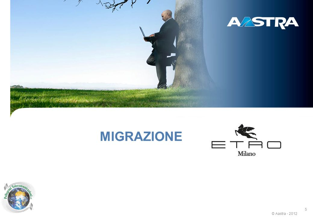 New generation CTI: Unified Communications with TWP 3.1 MIGRAZIONE
