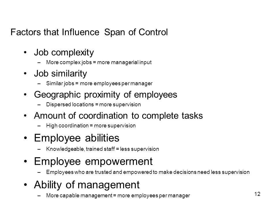 Employee abilities Employee empowerment Ability of management