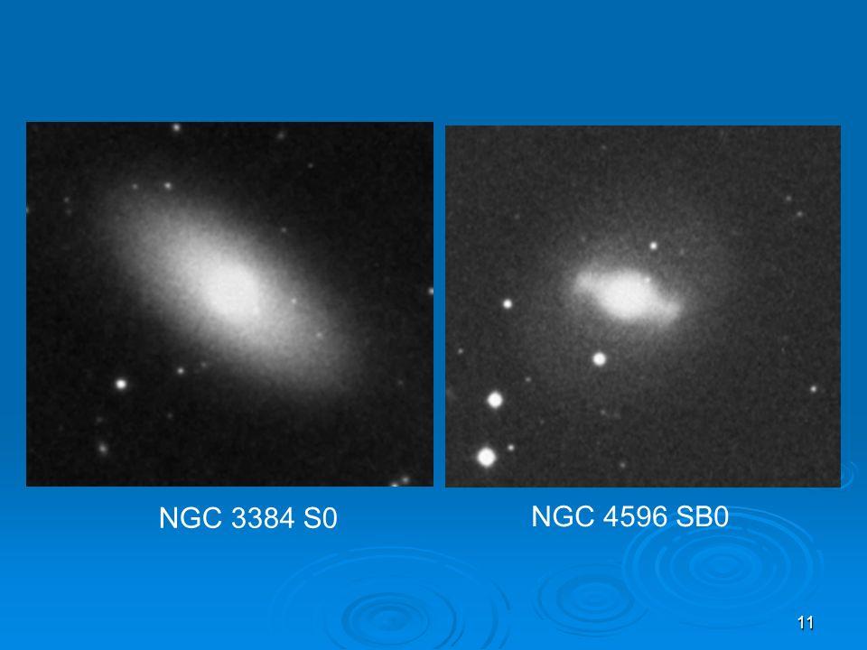 NGC 3384 S0 NGC 4596 SB0