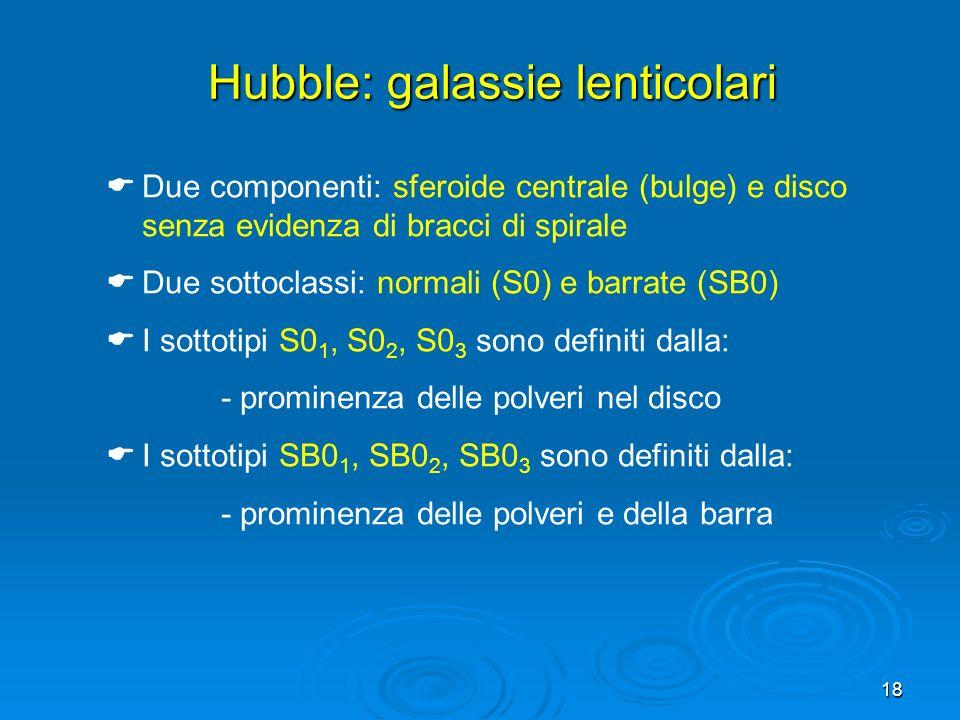 Hubble: galassie lenticolari