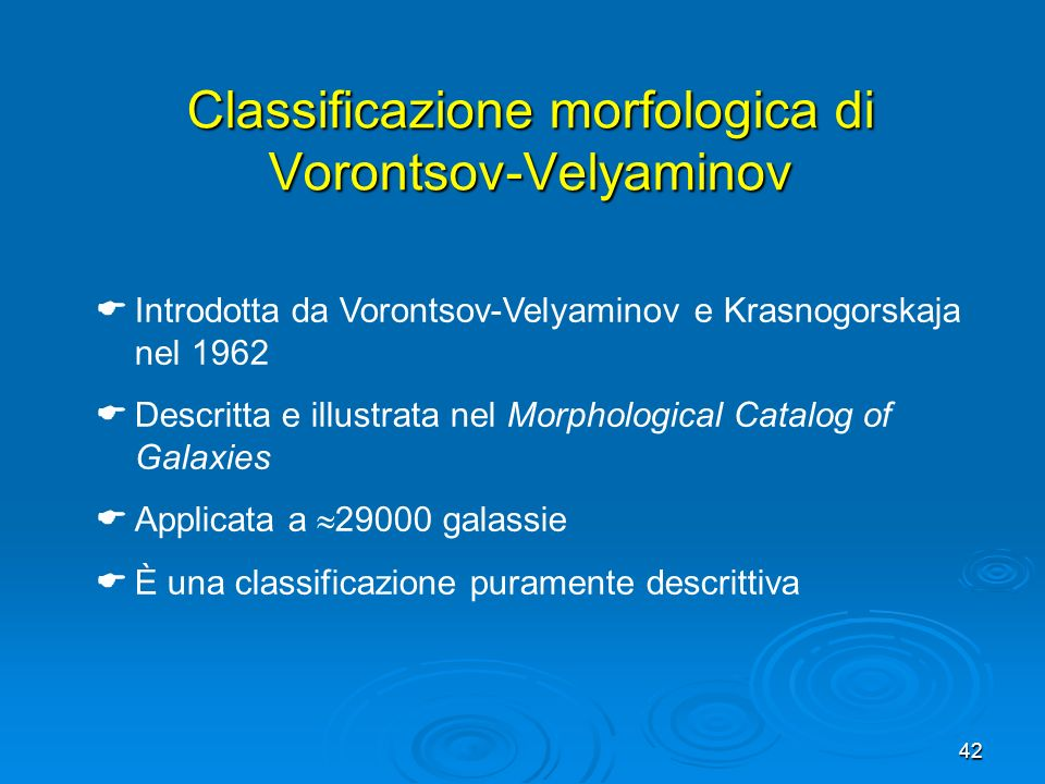 Classificazione morfologica di Vorontsov-Velyaminov