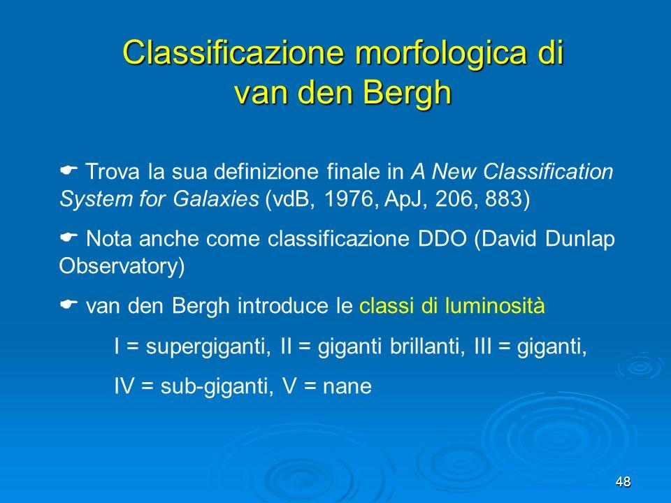 Classificazione morfologica di van den Bergh