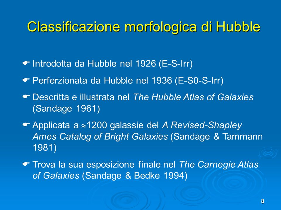 Classificazione morfologica di Hubble