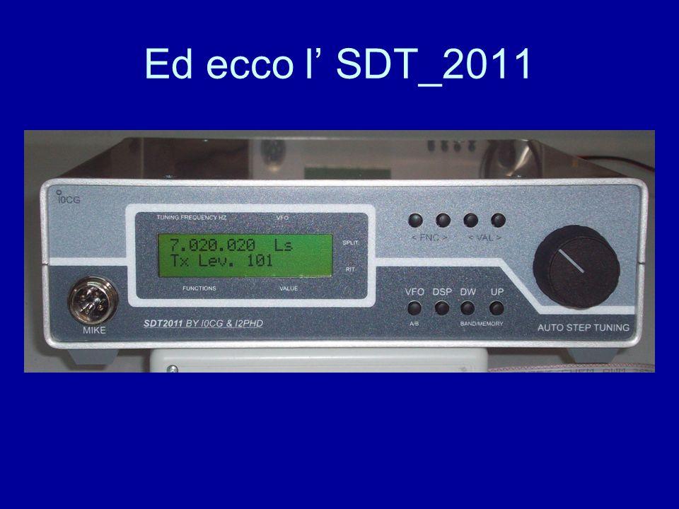 Ed ecco l' SDT_2011