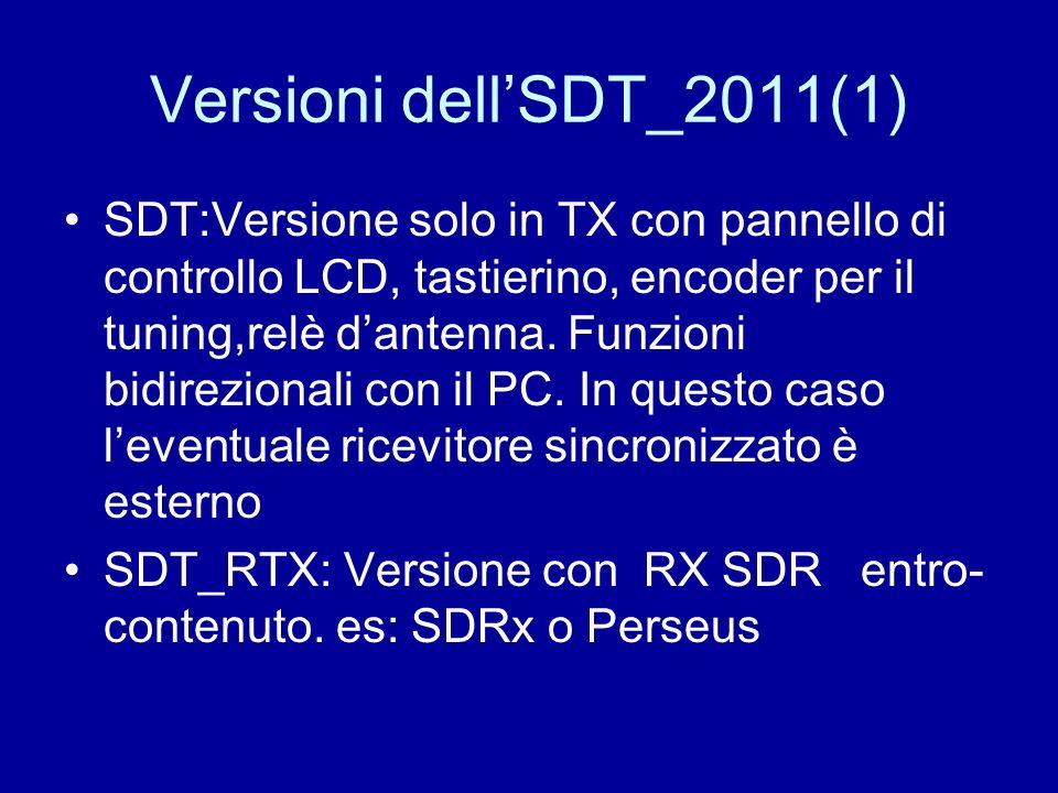 Versioni dell'SDT_2011(1)