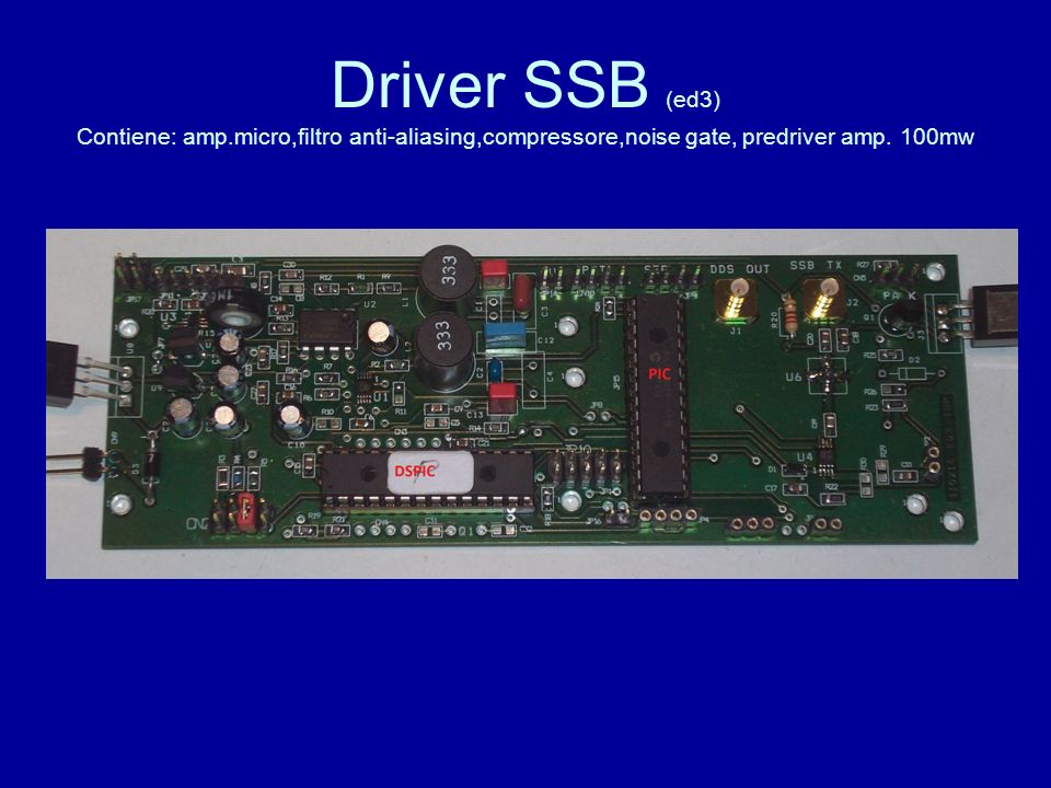 Driver SSB (ed3) Contiene: amp