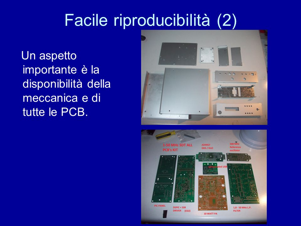 Facile riproducibilità (2)