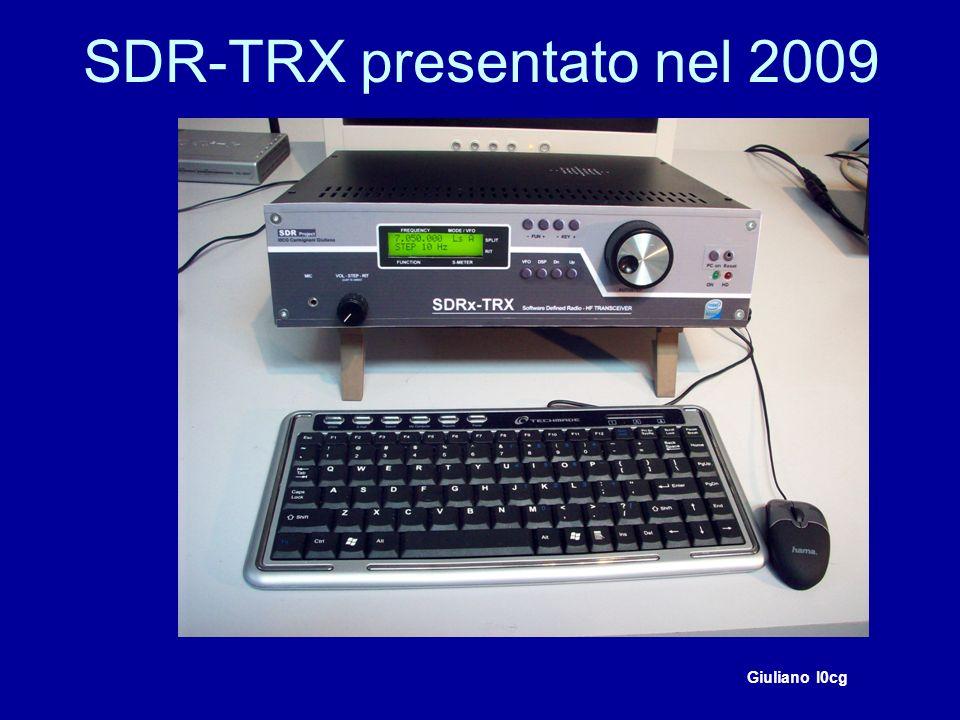 SDR-TRX presentato nel 2009