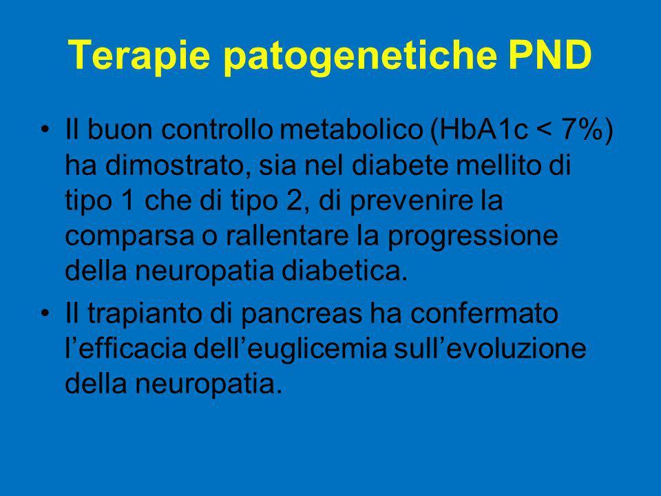 Terapie patogenetiche PND