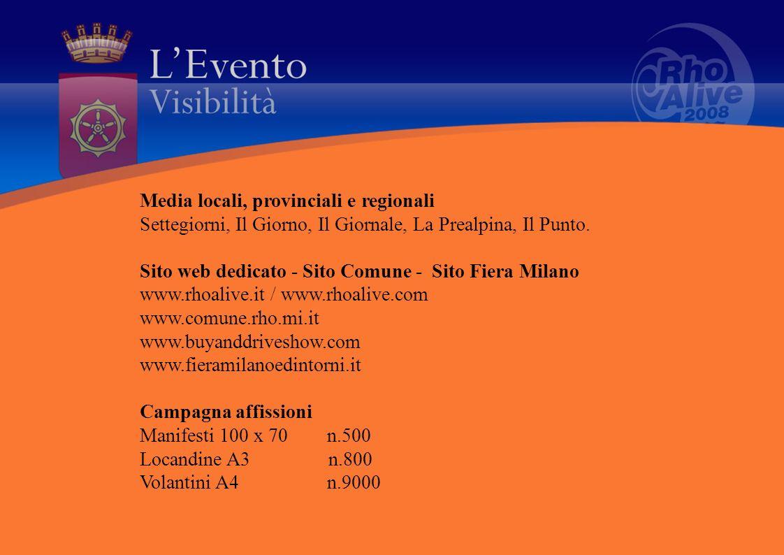 Media locali, provinciali e regionali