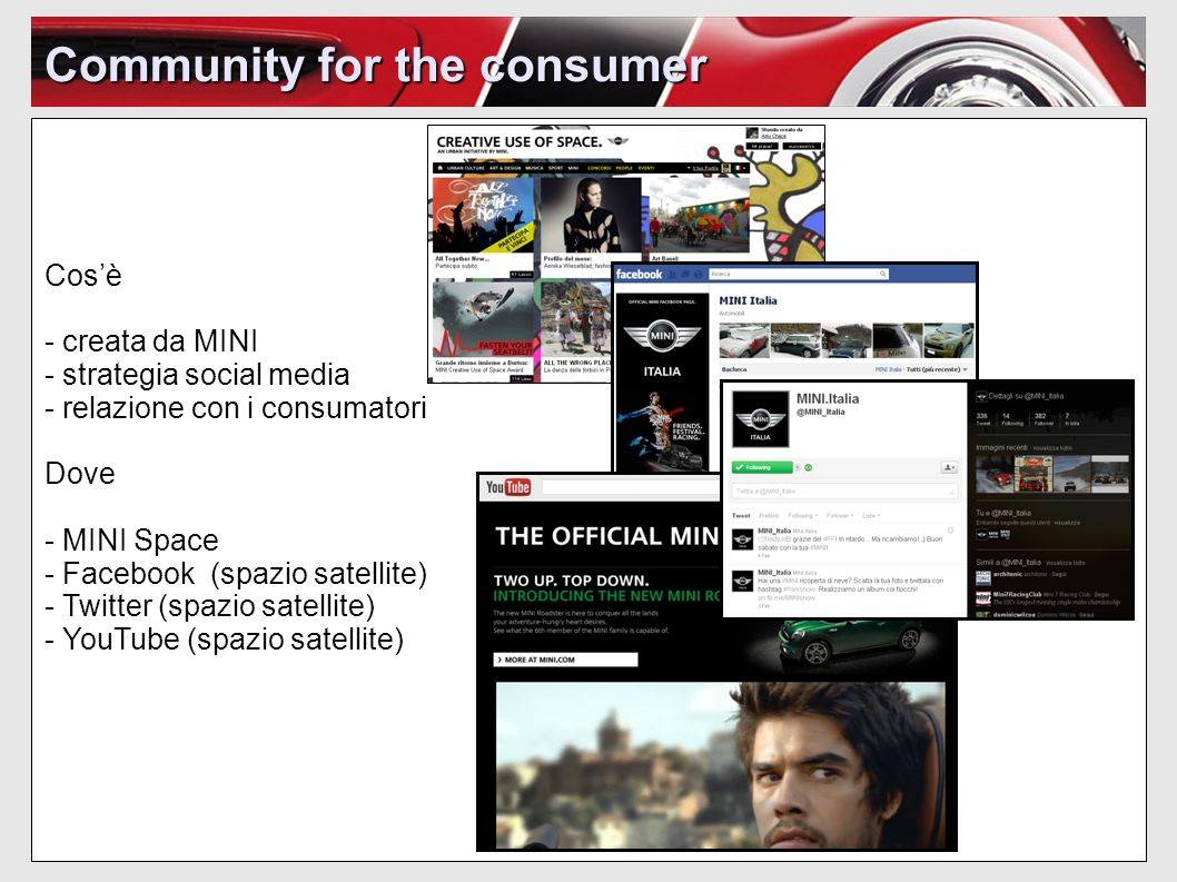 Community for the consumer