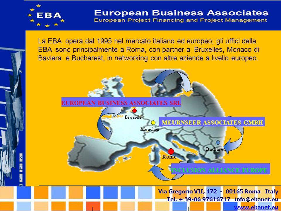 MEURNSEER ASSOCIATES GMBH EUROPEAN BUSINESS ASSOCIATES SRL