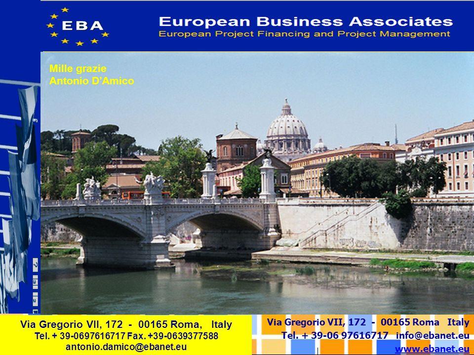 Via Gregorio VII, 172 - 00165 Roma, Italy