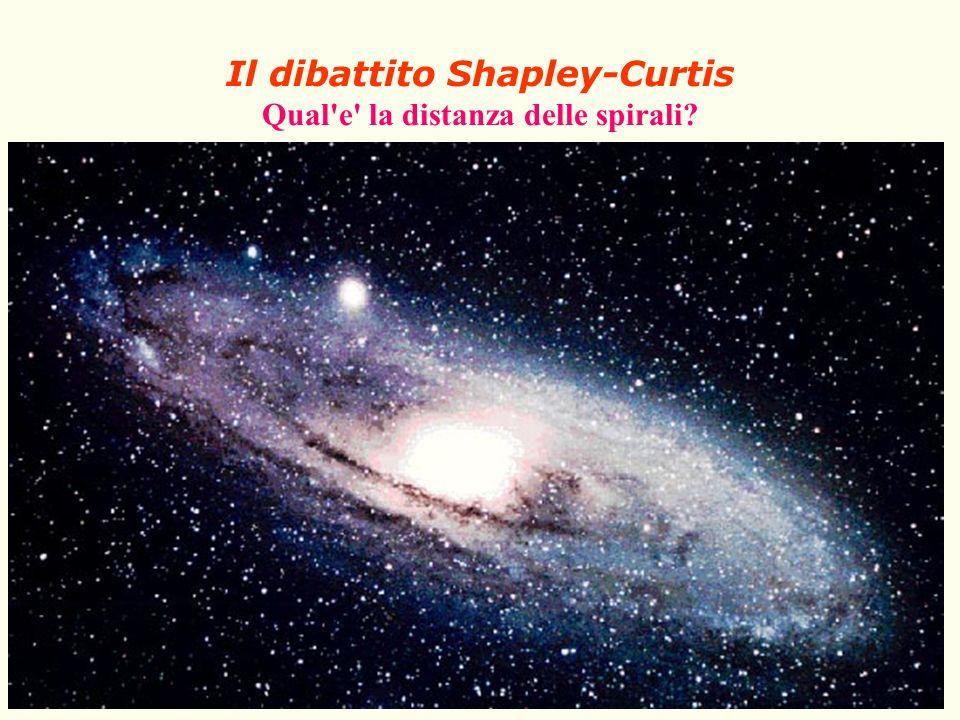Il dibattito Shapley-Curtis Qual e la distanza delle spirali